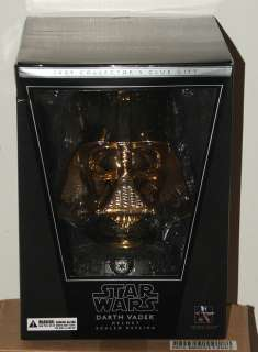 2009 Gentle Giant Collectors Club Star Wars 13 Scale Gold Darth Vader