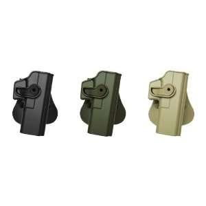 Glock 20 Polymer Retention Roto gun Holster OD Green