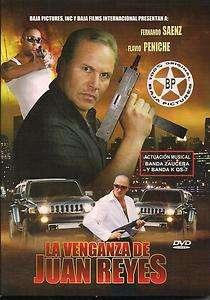 La Venganza De Juan Reyes DVD NEW Fernando Saenz Flavio Peniche