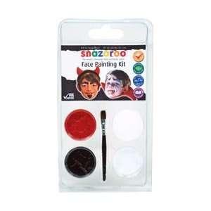 Reeves Snazaroo Face Painting Mini Theme Kit Devil Dracula; 3 Items