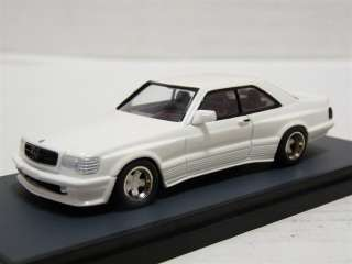 AMR 476 1/43 1984 Mercedes Benz 500 SEC AMG White Metal Handmade Model