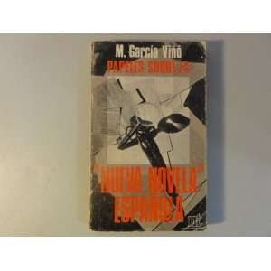 Papeles sobre la nueva novela española.: M.  GARCIA VIÑO: Books