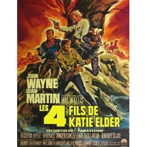 The Sons of Katie Elder (1965) 27 x 40 Movie Poster French