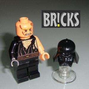 BattleDmgd ANAKIN SKYWALKER Star Wars LEGO Vader helmet