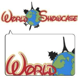 World Showcase Metallic Border Laser Die Cut Arts, Crafts & Sewing