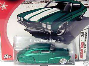 2005 Hot Wheels Holiday Rods 47 Chevy Fleetline green