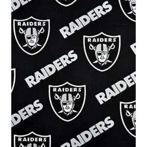 Oakland Raiders Cotton Fabric: Arts, Crafts & Sewing