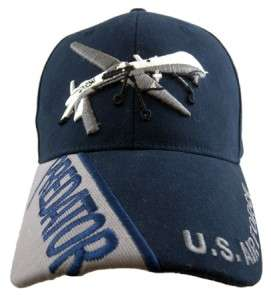 PREDATOR DRONE AIR FORCE ARMY MILITARY COTTON HAT CAP