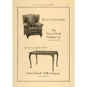 1920 Ad Stone Hoult Furniture Grand Rapids Table Chair
