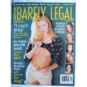 Barely Legal, Hustlers, October 1999 Hustler Books