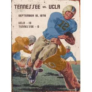 UCLA Bruins   vs. Tennessee   30x40 Plank Wood Sign