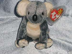 1999 Ty Beanie Baby Eucalyptus Koala Born April 28,1999