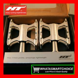 AR01 SILVER Mountain & Road & BMX Bicycle Bike Pedals