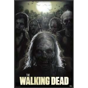 The Walking Dead from Zombie TV Series Poster Dry Mounted