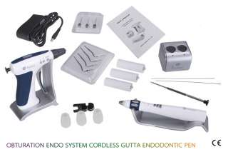 ENDODONTIC Dental Endo Obturation System Gutta Percha Gun Pen Cordless