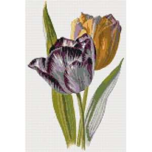 Tulips Counted Cross Stitch Kit: Everything Else