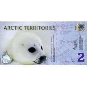 : 2010 Arctic Territories $2 Baby Seal Polar Dollar: Everything Else