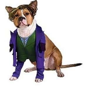 com Dog Fancy Dress Costume Batman The Joker   Size XS Toys & Games