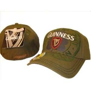 Guinness Extra Stout Beer Flex Bottle Opener Baseball Cap Caps Hat