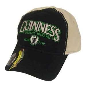 GUINNESS BEER DUBLIN IRELAND BOTTLE OPENER HAT CAP BLK