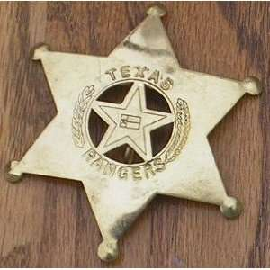 Texas Ranger 6 Point Obsolete Old West Police Badge