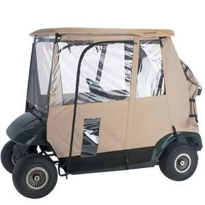 Classic Accessories Fairway Deluxe 3 sided Golf Car