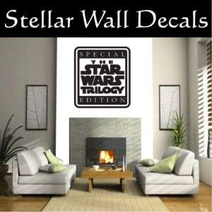 trilogy Star Wars Wall Car Vinyl Decal Sticker