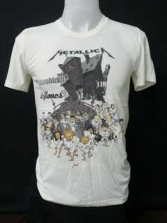 Metallica n Famous rock band tour 2003 mens t shirt S