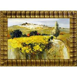 Modern European Landscape Oil Painting