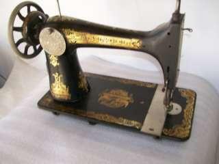 Singer Treadle Sewing Machine Model 127 Fancy Scroll Sphinx Egyptian