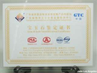 Certified Bat Prosperous Squash Translucent Hetian Green Nephrite Jade