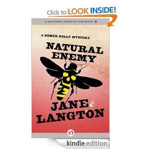 Natural Enemy A Homer Kelly Mystery eBook Jane Langton Kindle Store