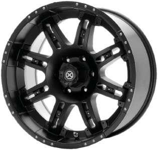 18 inch ATX Thug black wheels rims 5x150 Toyota Tundra