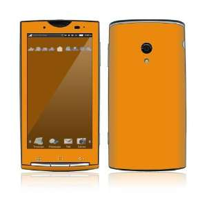 Simply Orange Decorative Skin Cover Decal Sticker for Sony Ericsson