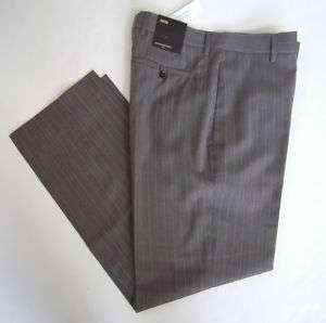 Banana Republic Men Gray Pinstripe Pants 30 Inseam NWT