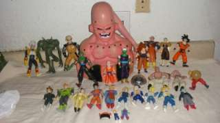 LOT OF 27 TOYS ABSORBING BUU MAJIN BUU VEGETA GOKU SUPER BABY