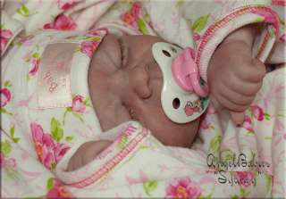 Reborn Sydney Doll KIT by Pat Moulton, Peach   HTF