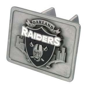 Oakland Raiders Trailer Hitch Cover Automotive