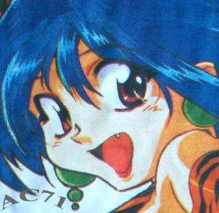 TIGER GIRL New Japanese Anime Manga Cap Sleeve T Shirt Misses XS