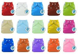 PERFECT SIZE XS Fuzzibunz Fuzzi Bunz Newborn Cloth Pocket Diaper