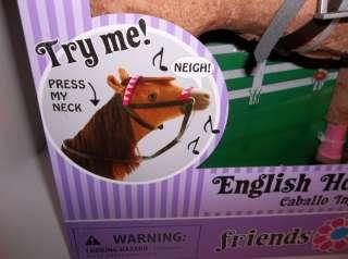 Paradise Horse For American Girl English Chestnut with Auburn Mane