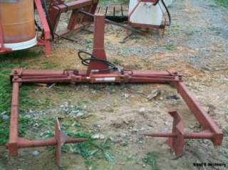 Round Bale Hay Unroller Implement