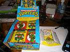 Teenage mutant ninja turtles cards 44 packs 1989