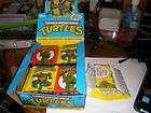 Teenage mutant ninja turtles cards 44 packs 1989