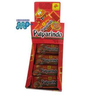Pulparindo X TRA HOT Tamarind Fruit Strip Style Chili Candy 4 Boxes