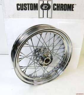 WHEEL WITH CUSTOM CHROME PATENTED STAR HUB WITH TIMKEN STYLE BEARINGS