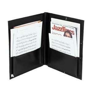 Pro Tec Big Band Music Folder, Black Musical Instruments