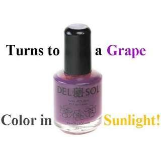 Del Sol ☂ Color Changing Nail Polish ☂ Beach Bum ☂