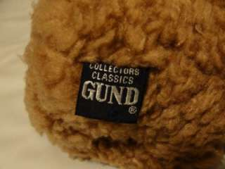 Gund 1987 Collectors Classics Brown Jointed Teddy Bear