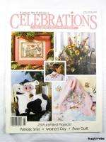 Celebrations Cross Stitch Magazine Late Spring 1991 ~ Bunnies